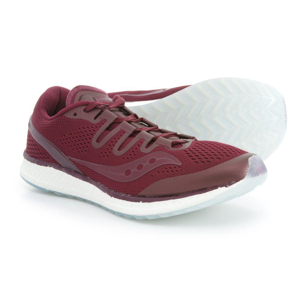 サッカニー メンズ ランニング・ウォーキング シューズ・靴【Freedom ISO Running Shoes】Burgundy