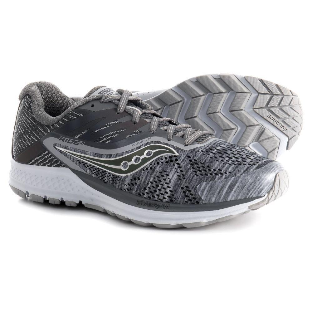 【高い素材】 サッカニー メンズ ランニング・ウォーキング Shoes】Grey シューズ・靴【Ride 10 サッカニー Running Running Shoes】Grey, 山梨市:f961deed --- construart30.dominiotemporario.com