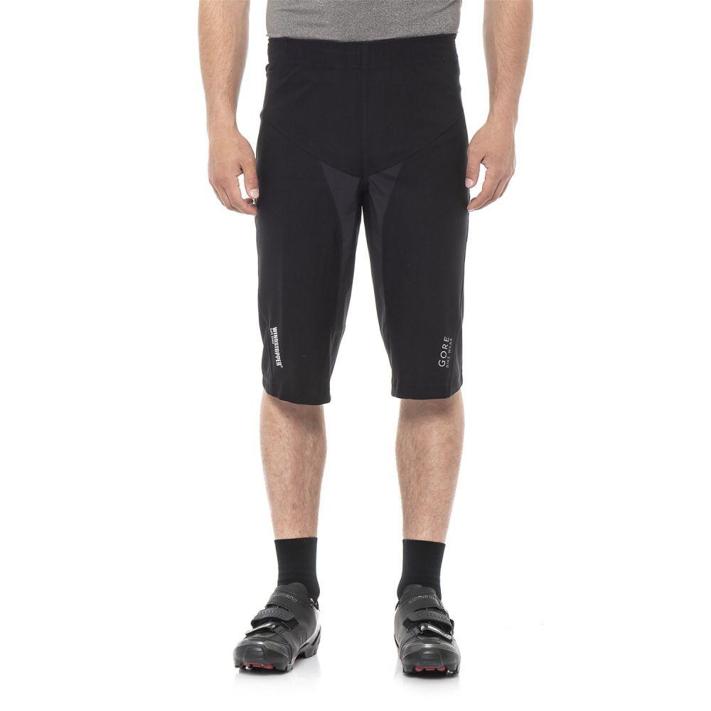 ゴアバイクウェア メンズ 自転車 ボトムス・パンツ【ALP-X Pro Windstopper SO Bike Shorts】Black