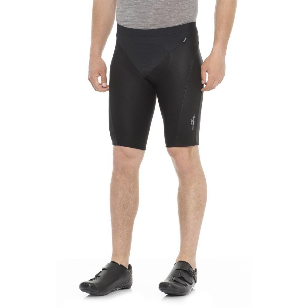 ゴアバイクウェア メンズ 自転車 ボトムス・パンツ【Power Windstopper Tights Shorts+ Bike Shorts】Black