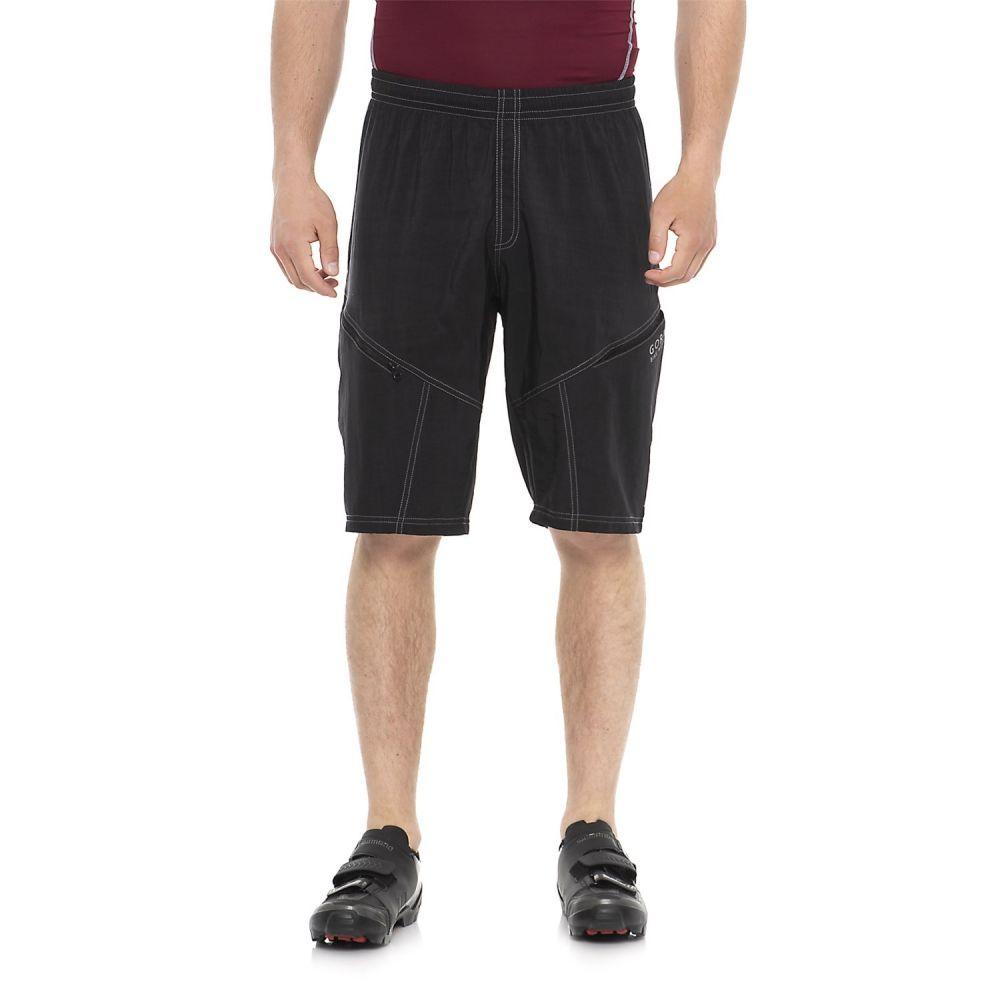 ゴアバイクウェア メンズ 自転車 ボトムス・パンツ【Mountain Bike Shorts - Removable Liner Shorts】Black