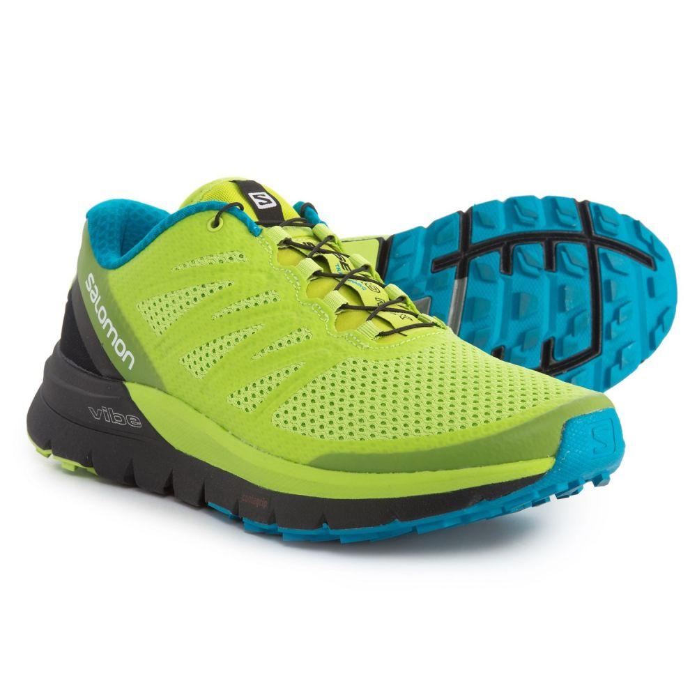 サロモン メンズ ランニング・ウォーキング シューズ・靴【Sense Pro Max Trail Running Shoes】Lime Punch/Black/Hawaiian Ocean