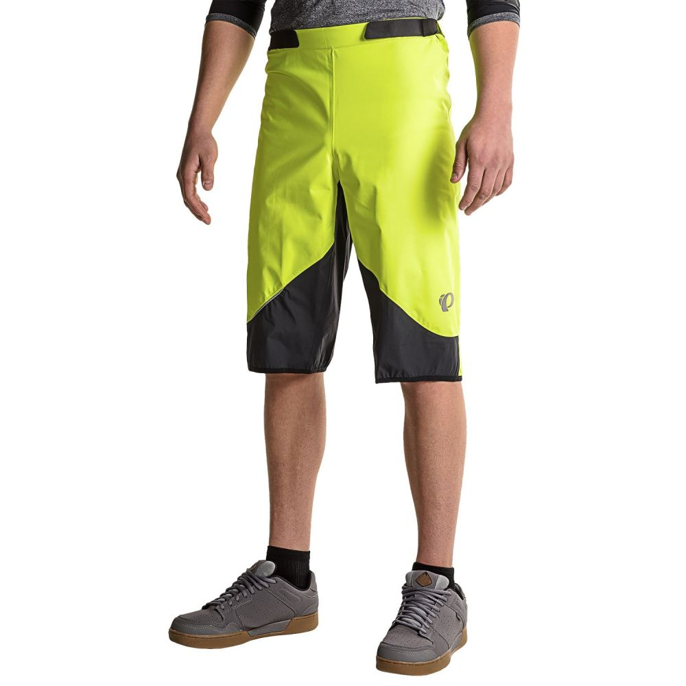 パールイズミ メンズ 自転車 ボトムス・パンツ【MTB WxB Bike Shorts - Waterproof】Screaming Yellow