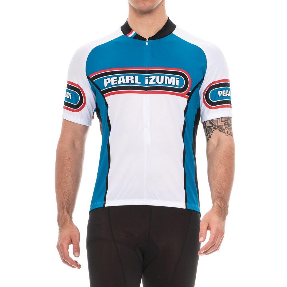 パールイズミ メンズ 自転車 トップス【SELECT LTD Cycling Jersey - UPF 50+, Short Sleeve】Arcade True Blue