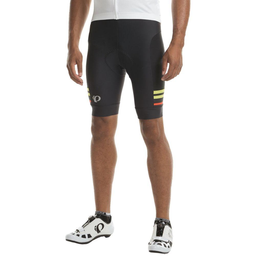 パールイズミ メンズ 自転車 ボトムス・パンツ【ELITE Escape Bike Shorts】Black / Citron