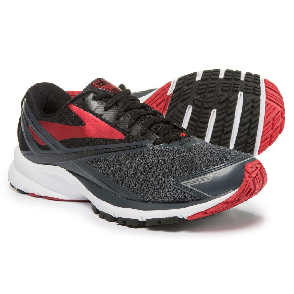 ブルックス メンズ ランニング・ウォーキング シューズ・靴【Launch 4 Running Shoes】Anthracite/Black/High Risk Red