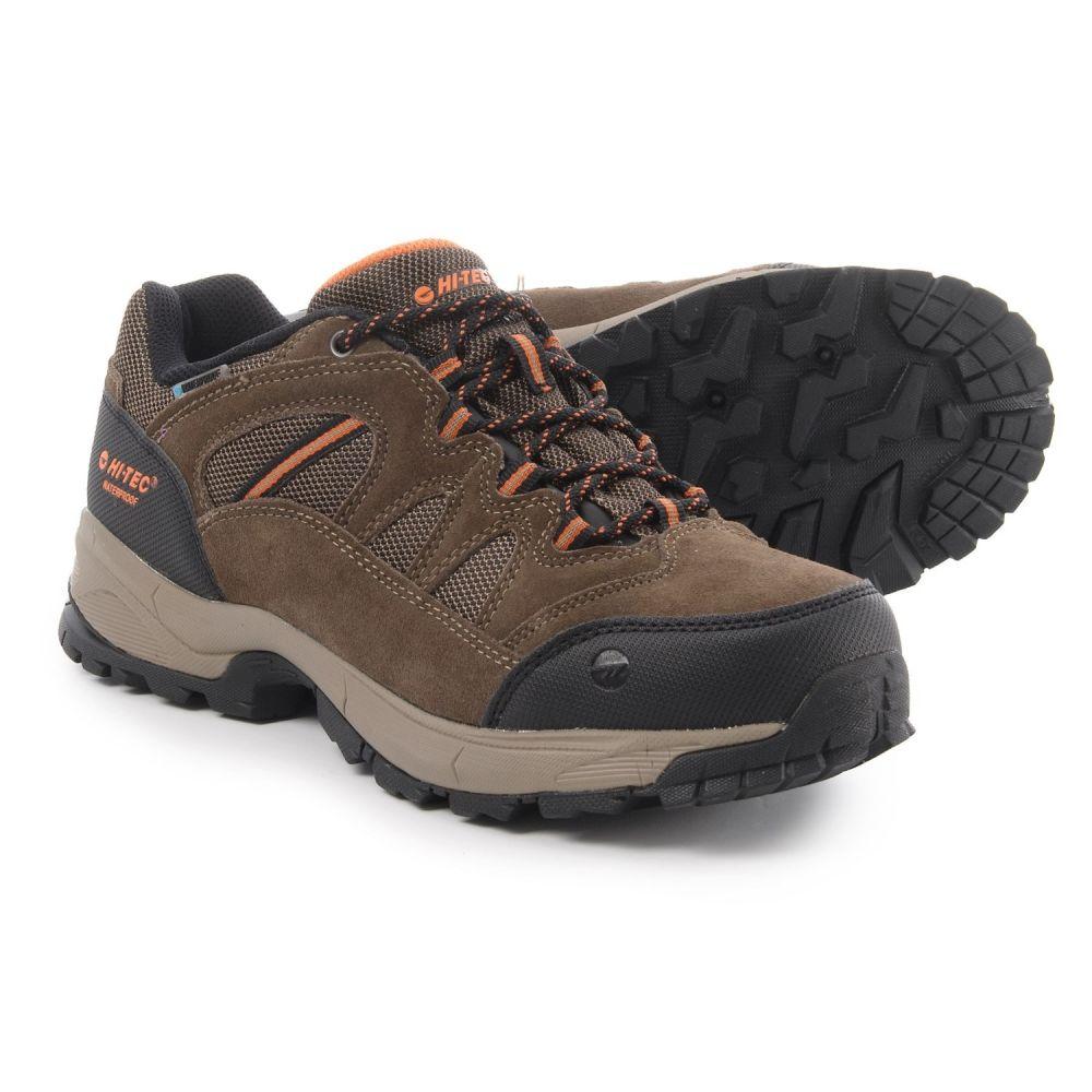 ハイテック メンズ ハイキング・登山 シューズ・靴【Ridge Low Hiking Shoes - Waterproof】Brown