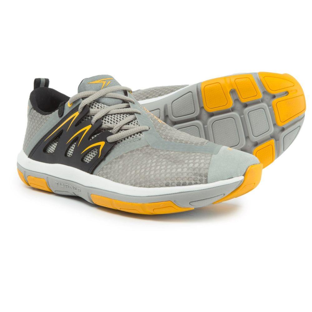 ターナー フットウェア メンズ フィットネス・トレーニング シューズ・靴【T-Fleerun Training Shoes】Grey/Yellow/Black