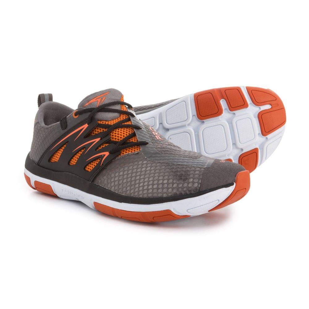 ターナー フットウェア メンズ フィットネス・トレーニング シューズ・靴【T-Fleerun Training Shoes】Grey/Orange/Black