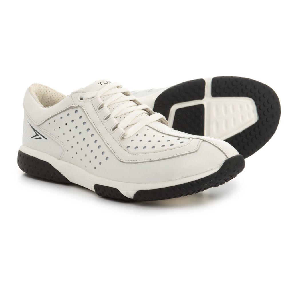 ターナー フットウェア メンズ フィットネス・トレーニング シューズ・靴【T-Swolemate Training Shoes - Goat Leather】White/Black