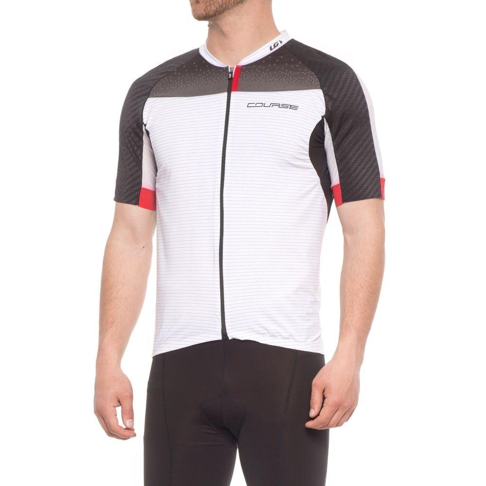 ルイガノ メンズ 自転車 トップス【Elite M-2 RTR Cycling Jersey - UPF 50, Short Sleeve】Black/White