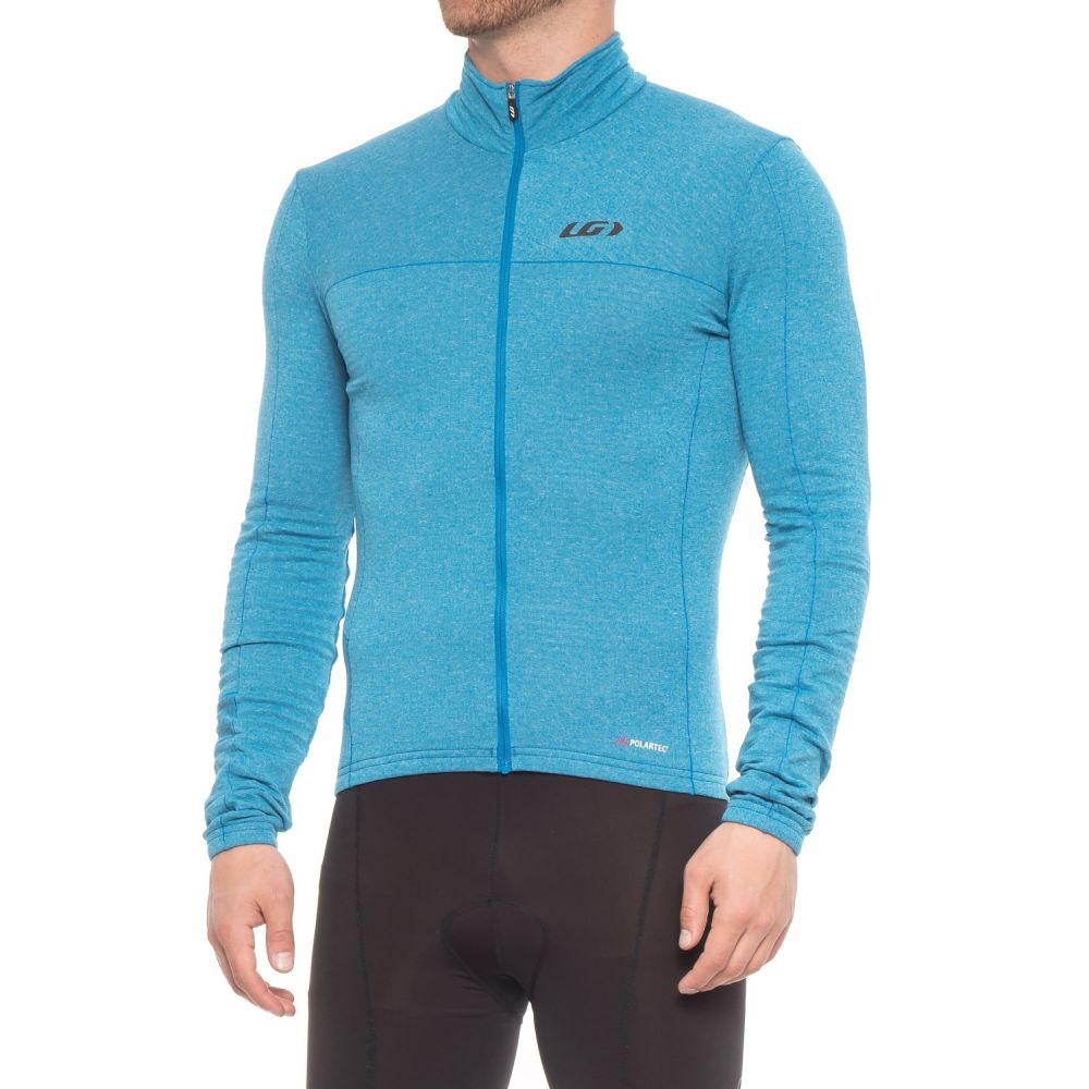 ルイガノ メンズ 自転車 トップス【Polartec Power Wool Cycling Jersey - Long Sleeve】Curacao Blue