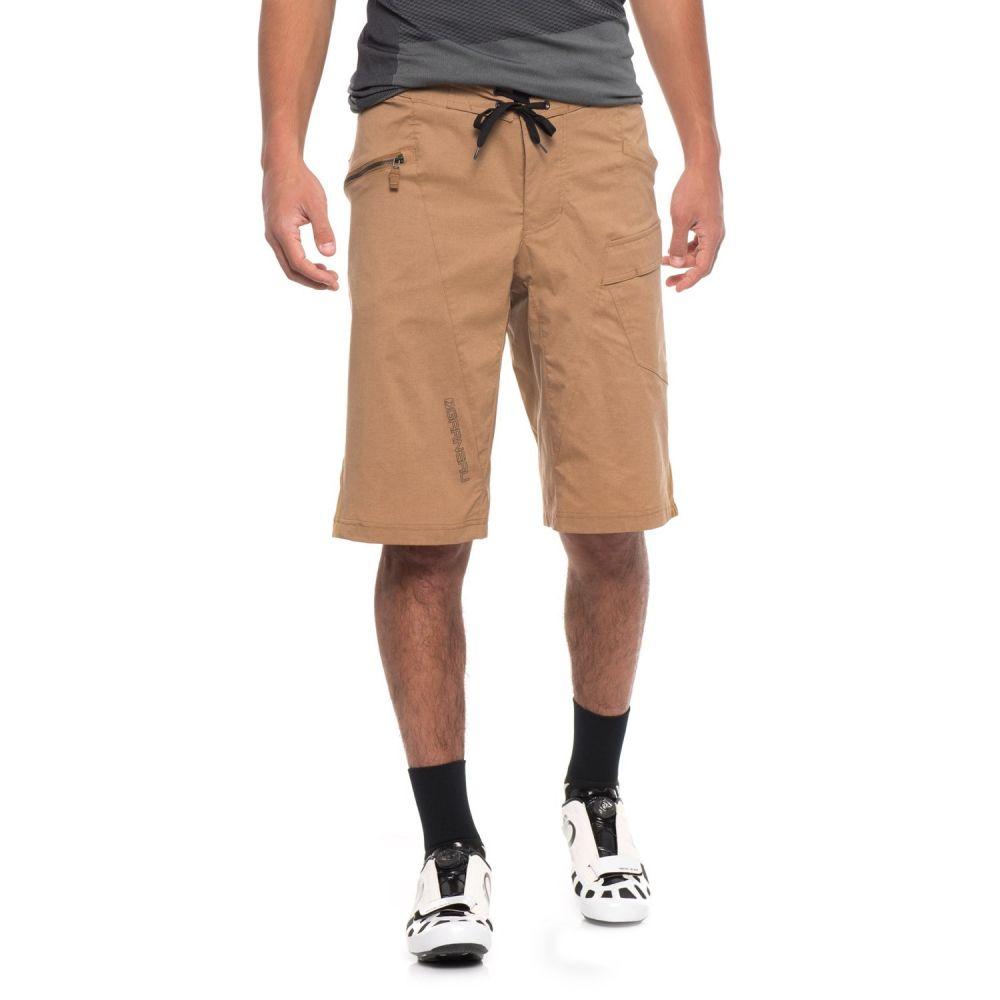 ルイガノ メンズ 自転車 ボトムス・パンツ【Derby 3-in-1 Bike Shorts】Toasted Coconut