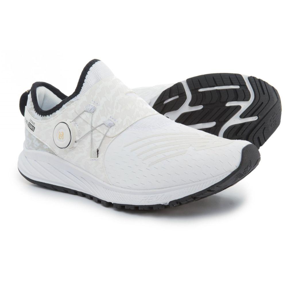 ニューバランス メンズ ランニング・ウォーキング シューズ・靴【FuelCore Sonic Viz Pack Running Shoes】White