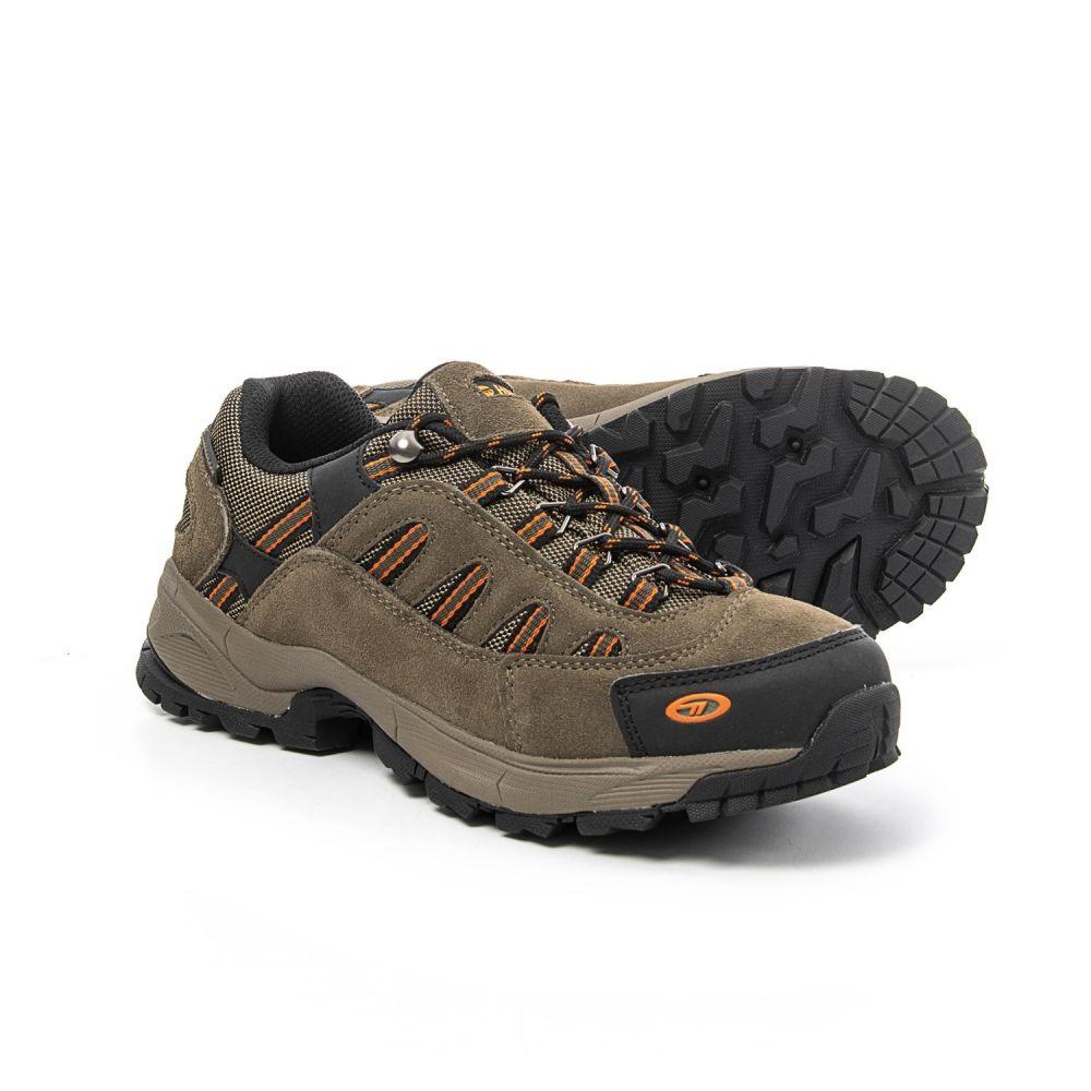 ハイテック メンズ ハイキング・登山 シューズ・靴【Bandera Ultra Low Hiking Shoes - Waterproof】Smokey Brown/Lt Taupe/Burnt Orange