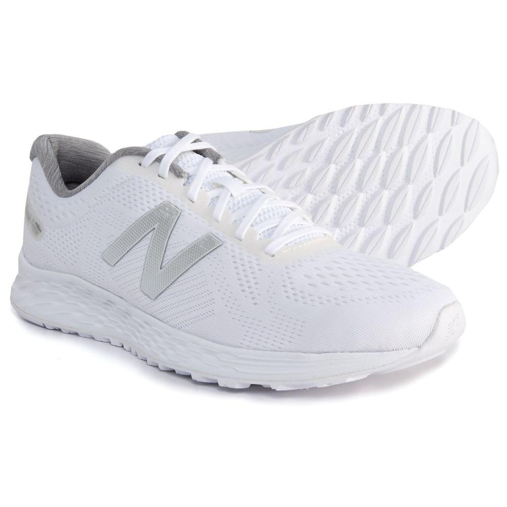 ニューバランス メンズ ランニング・ウォーキング シューズ・靴【Fresh Foam Arishi Running Shoes】White/Artic Fox