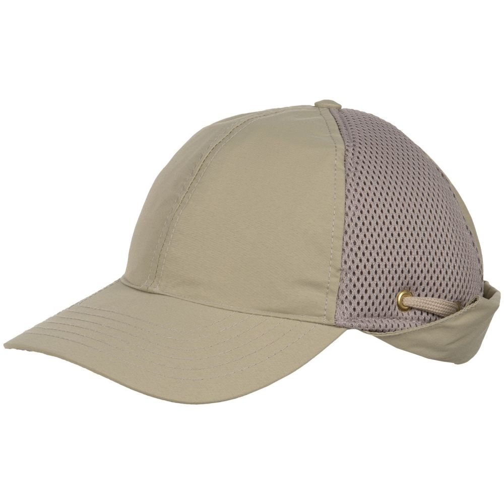 ティリー メンズ 帽子 キャップ【Airflo Sun-Protective Baseball Cap with Neck Cape】Khaki