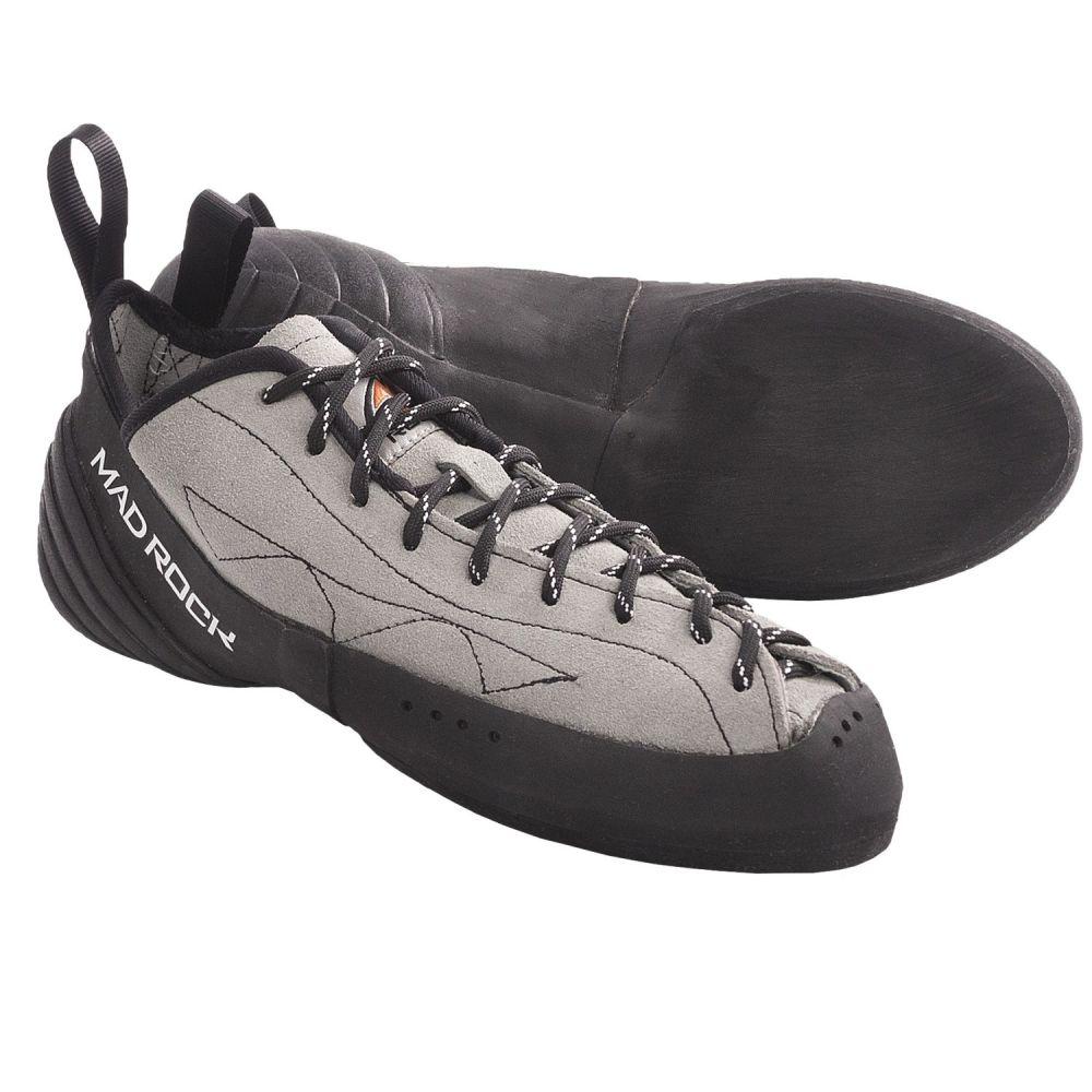マッドロック メンズ クライミング シューズ・靴【Phoenix Climbing Shoes】Grey/Black