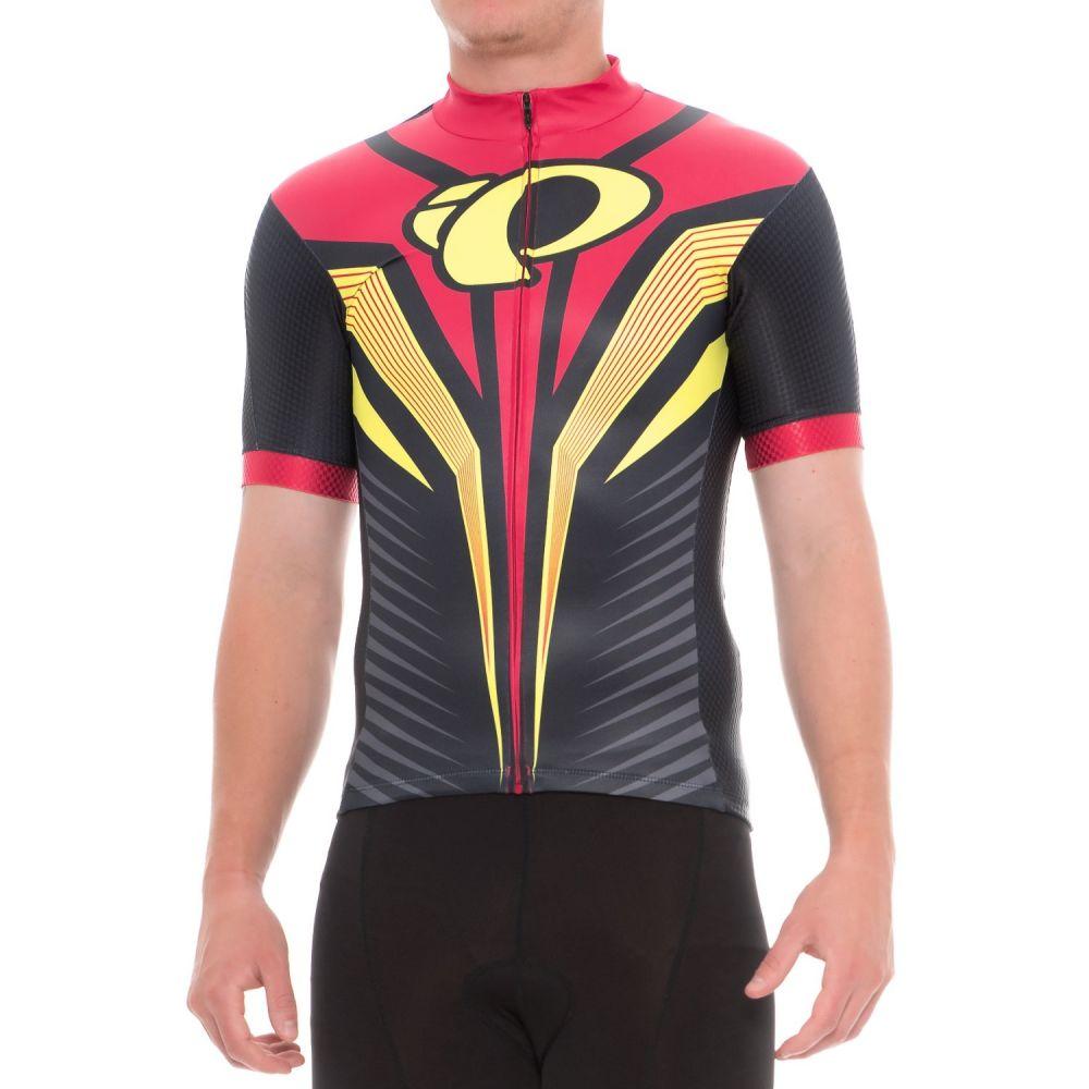 パールイズミ メンズ 自転車 トップス【P.R.O. LTD Speed Short Sleeve Cycling Jersey - UPF 40, Full Zip, Short Sleeve】Pro Tm Habanero