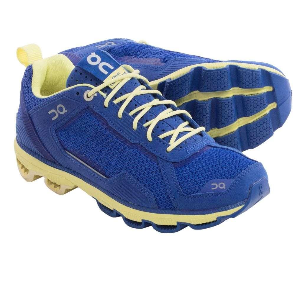 オン レディース ランニング・ウォーキング シューズ・靴【Cloudrunner Running Shoes】Sapphire/Limelight