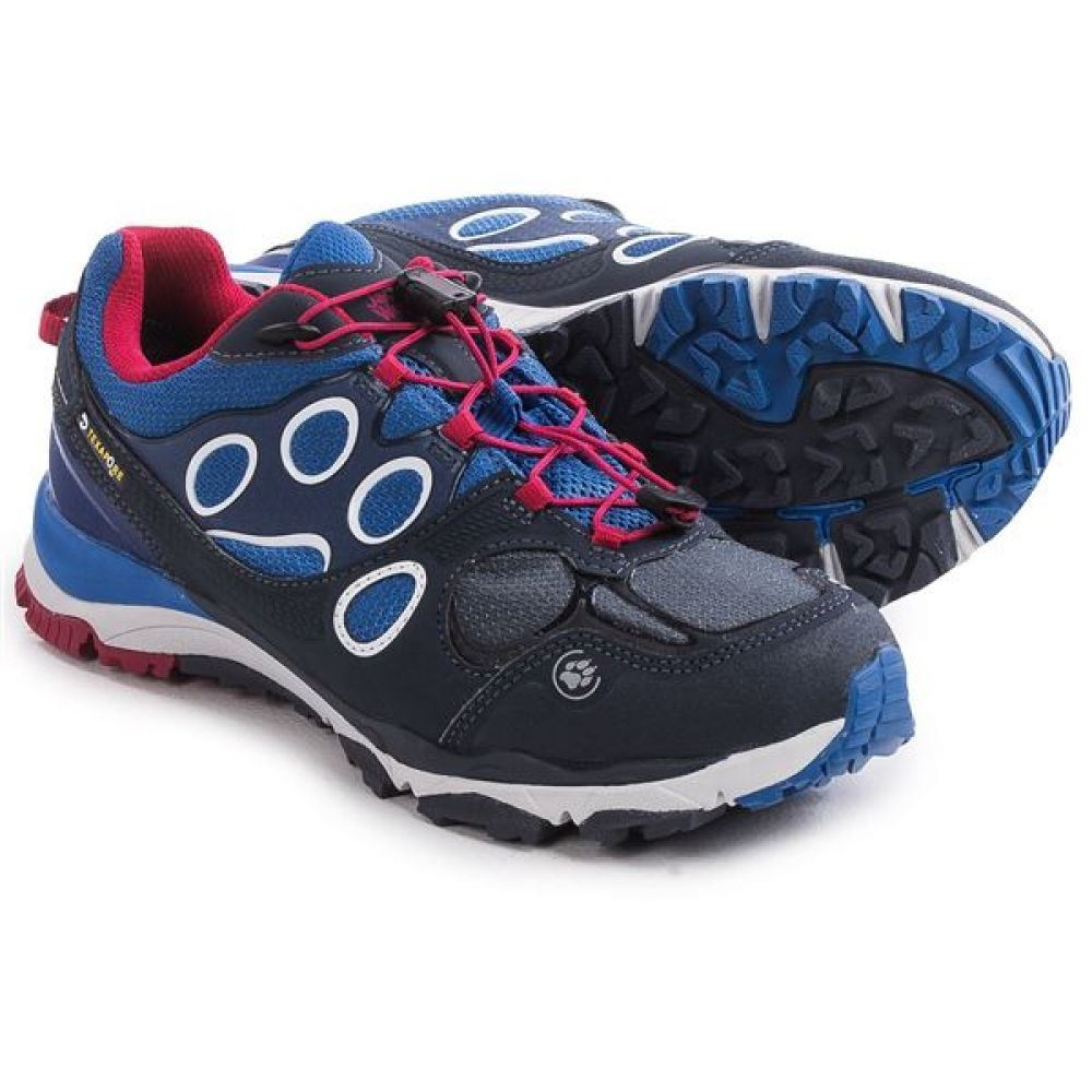 ジャックウルフスキン レディース ランニング・ウォーキング シューズ・靴【Trail Excite Low Texapore Trail Running Shoes】Rosebud