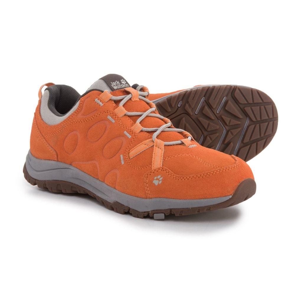 ジャックウルフスキン レディース ハイキング・登山 シューズ・靴【Terra Nova Low Hiking Shoes - Suede】Papaya