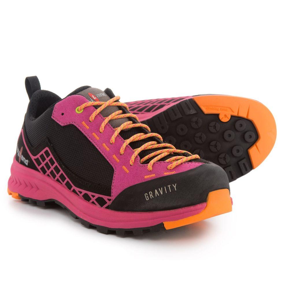 ケイランド レディース ハイキング・登山 シューズ・靴【Gravity Hiking Shoes】Black/Lilac