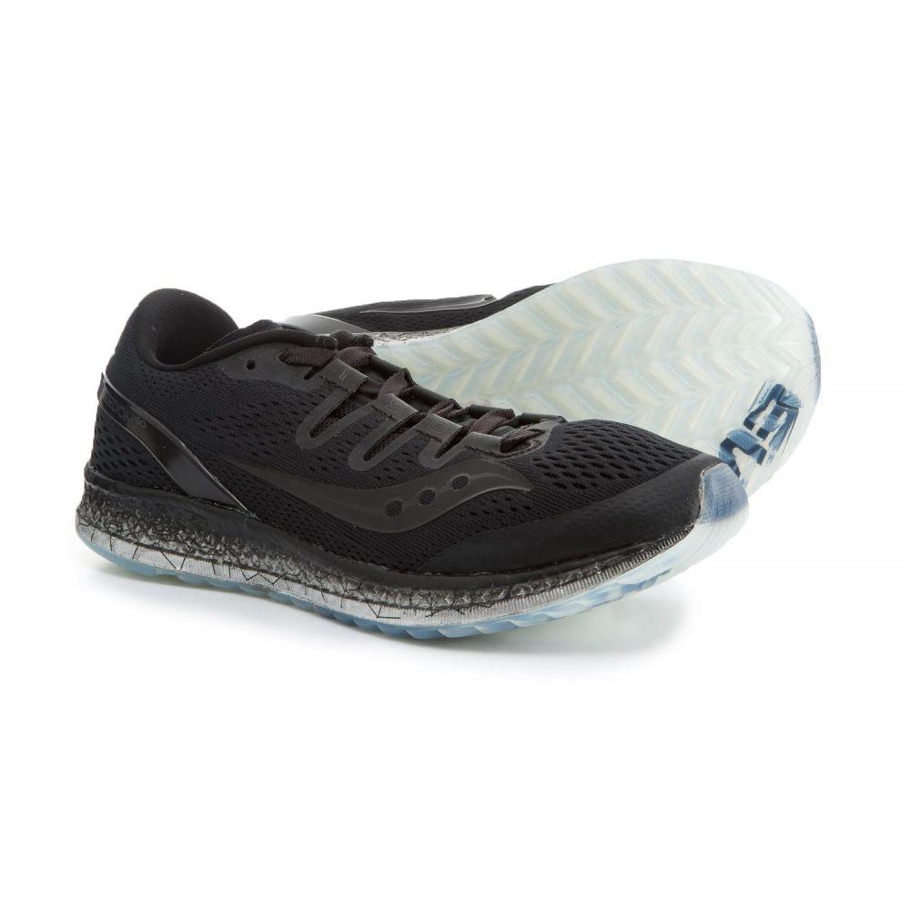サッカニー レディース ランニング・ウォーキング シューズ・靴【Freedom ISO Running Shoes】Black