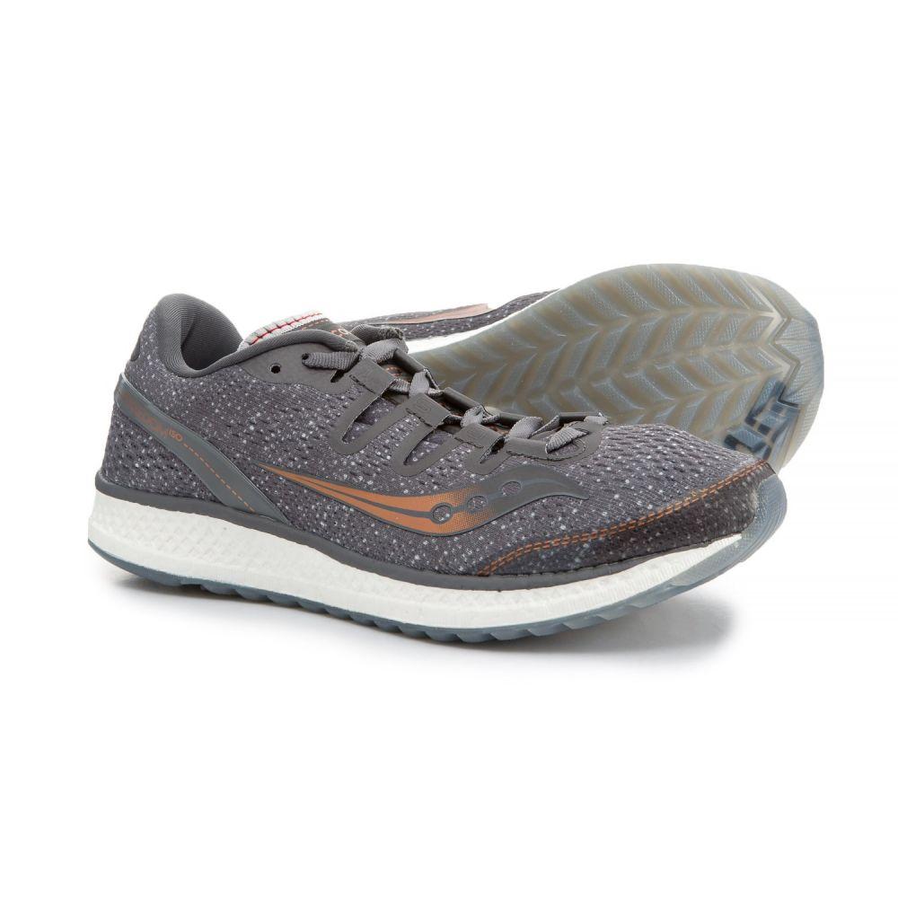 サッカニー レディース ランニング・ウォーキング シューズ・靴【Freedom ISO Running Shoes】Grey/Denim/Copper