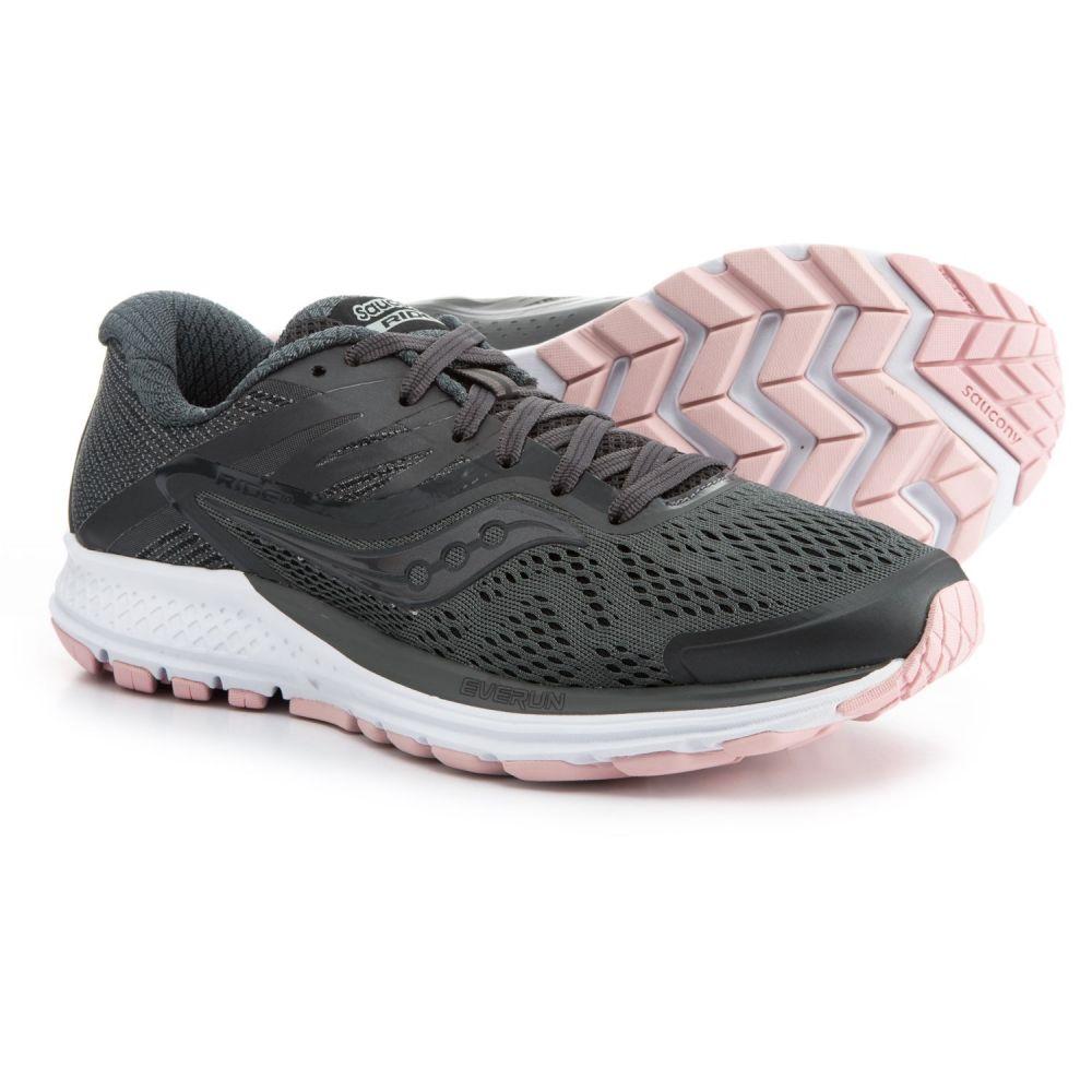 サッカニー レディース ランニング・ウォーキング シューズ・靴【Ride 10 Running Shoes】Gunmetal/Pink