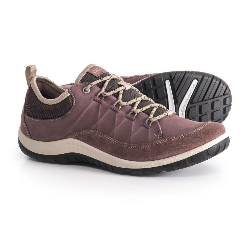 エコー レディース ハイキング・登山 シューズ・靴【Aspina Hiking Shoes - Nubuck】Dusty Purple/Dusty Purple
