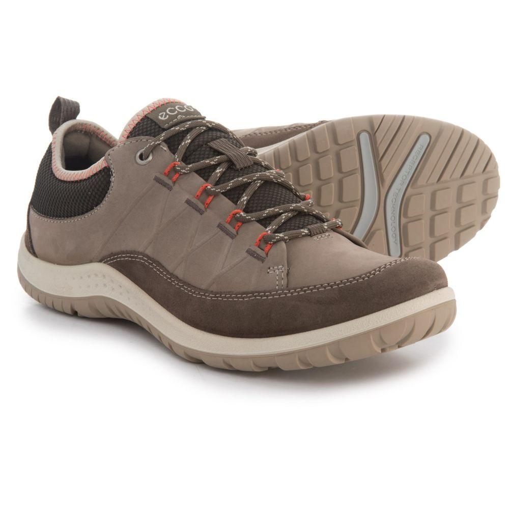 エコー レディース ハイキング・登山 シューズ・靴【Aspina Hiking Shoes - Nubuck】Dark Clay/Warm Grey