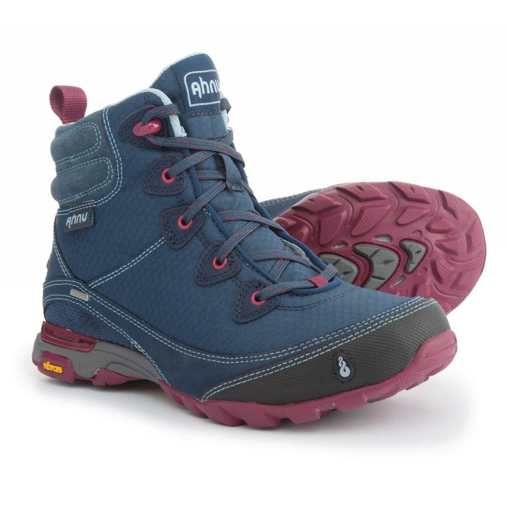 アニュ レディース ハイキング・登山 シューズ・靴【Sugarpine Hiking Boots - Waterproof】Blue Spell
