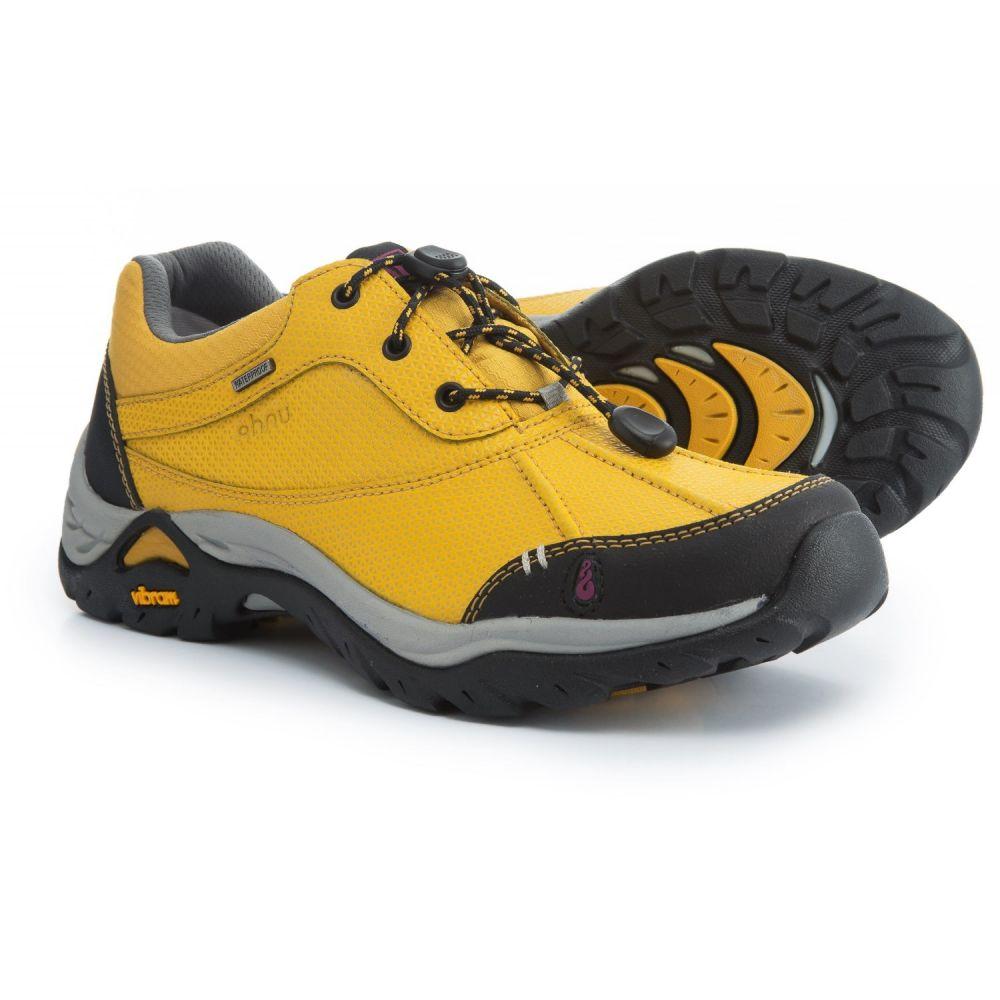 アニュ レディース ハイキング・登山 シューズ・靴【Calaveras Hiking Shoes - Waterproof, Leather】Golden Mustard