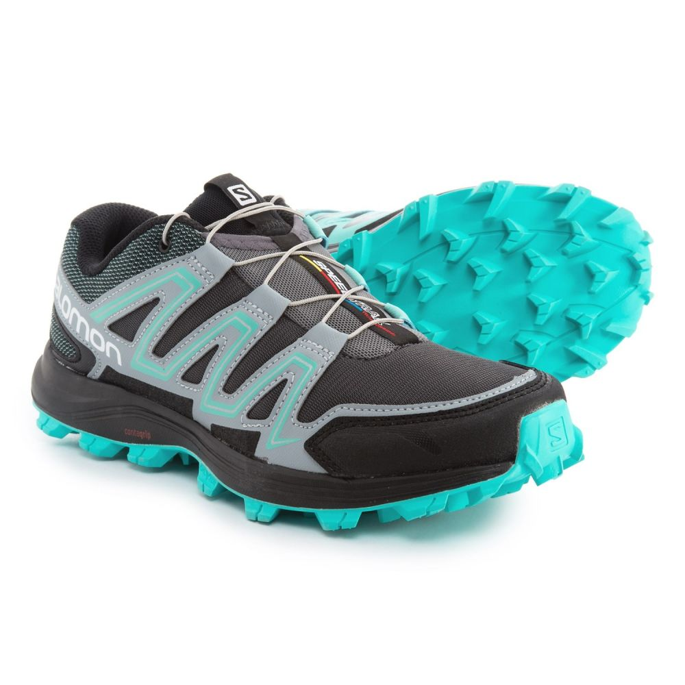 100%品質 サロモン レディース ランニング・ウォーキング シューズ・靴【Speedtrak Shoes】Dark Running Trail Running Cloud/Light Shoes】Dark Cloud/Light Onix/Bubble Blue, アジアンインテリア ループ:9dd20aee --- hortafacil.dominiotemporario.com