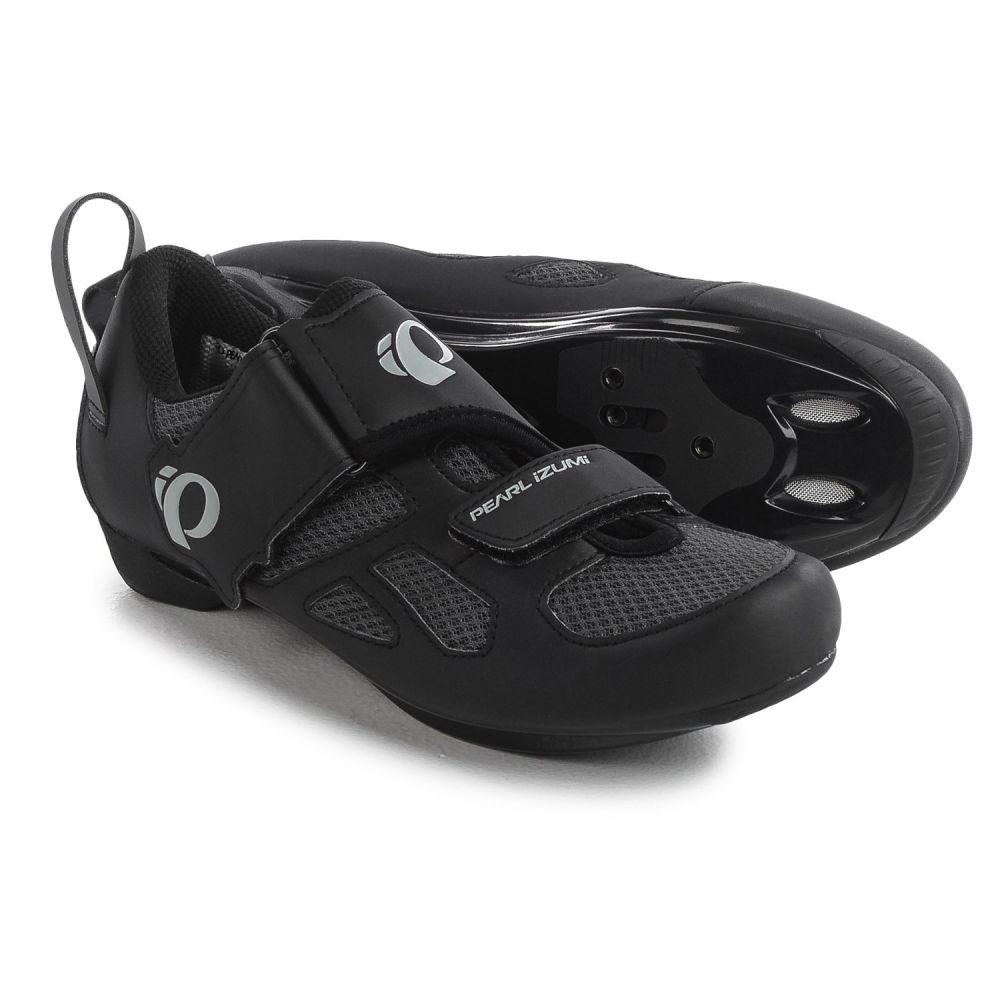 パールイズミ レディース 自転車 シューズ・靴【Tri Fly V Triathlon Cycling Shoes - SPD, 3-Hole】Black