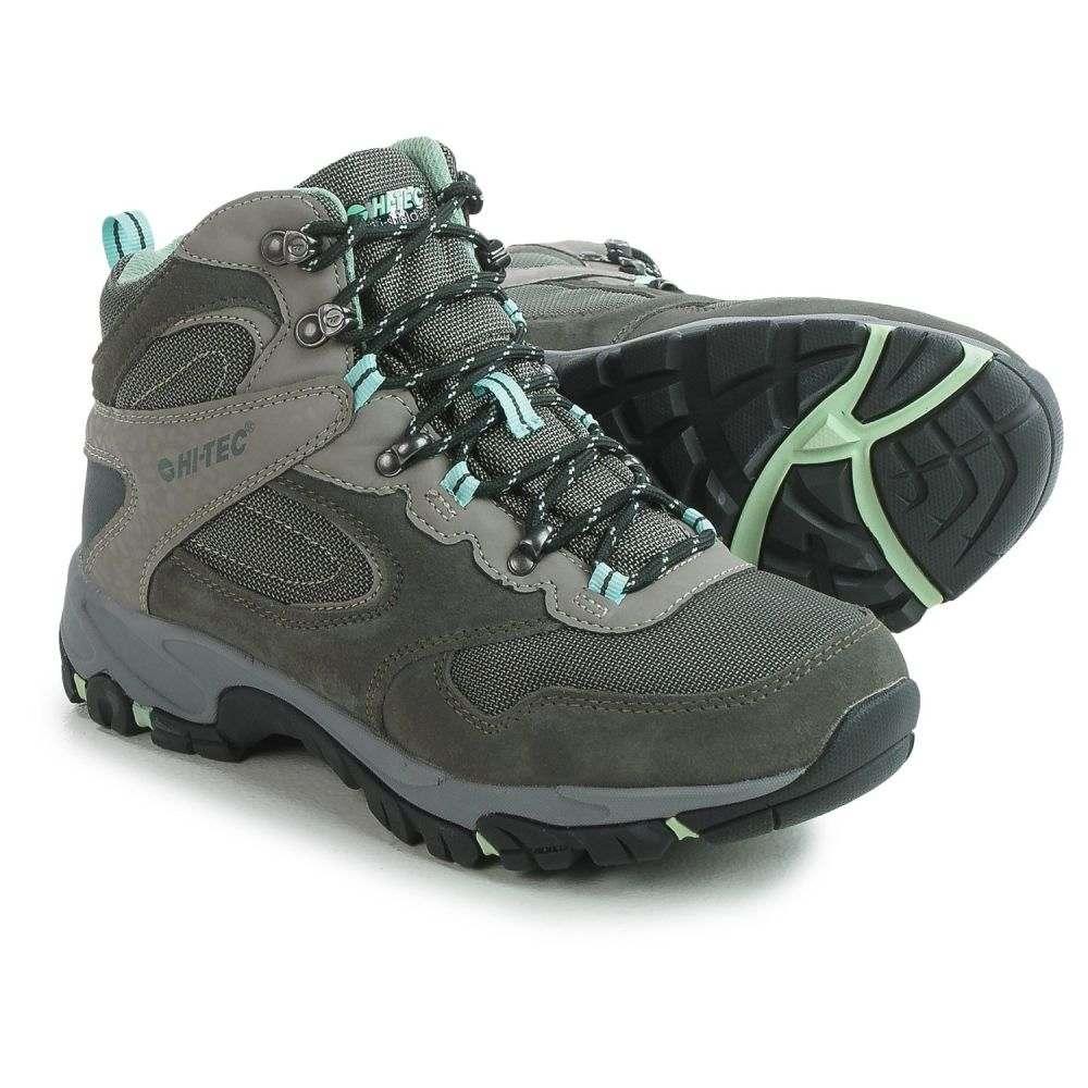 ハイテック レディース ハイキング・登山 シューズ・靴【Altitude Lite i-shield Hiking Boots - Waterproof】Charcoal/Grey/Lichen