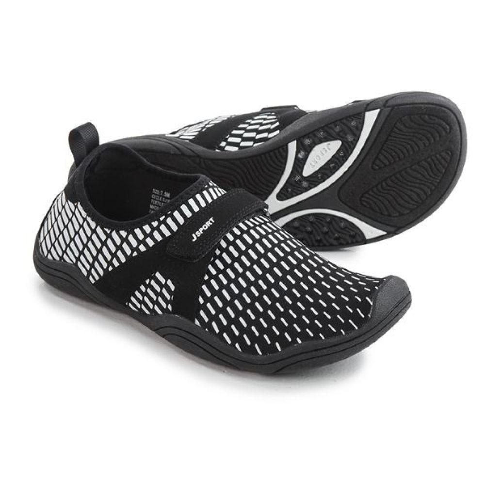 最高の品質の ジャンブー レディース シューズ Comfort・靴 ウォーターシューズ【JSport Water Cycle Comfort Water レディース Shoes - Slip-Ons】Black/White, くらしのキレイ専門店A.P.E:97e9e079 --- canoncity.azurewebsites.net