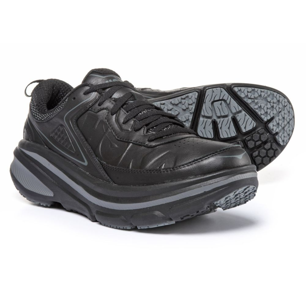 ホカ オネオネ レディース ランニング・ウォーキング シューズ・靴【Bondi LTR Walking Shoes】Black