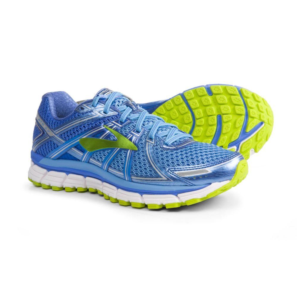 ブルックス レディース ランニング・ウォーキング シューズ・靴【Adrenaline GTS 17 Running Shoes】Azure Blue/Palace Blue/Lime Punch