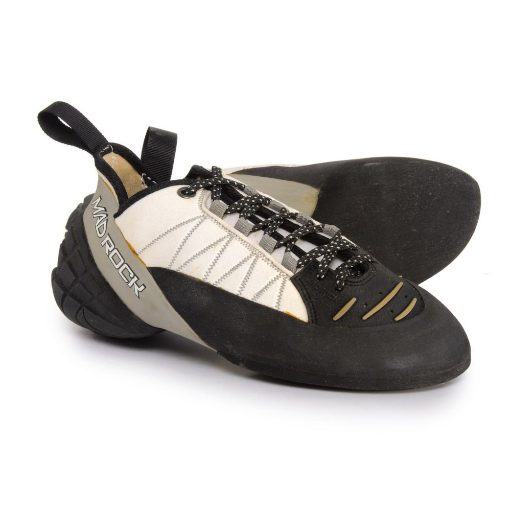 マッドロック レディース クライミング シューズ・靴【Mugen Tech 2.0 Climbing Shoes】White/Gray/Black