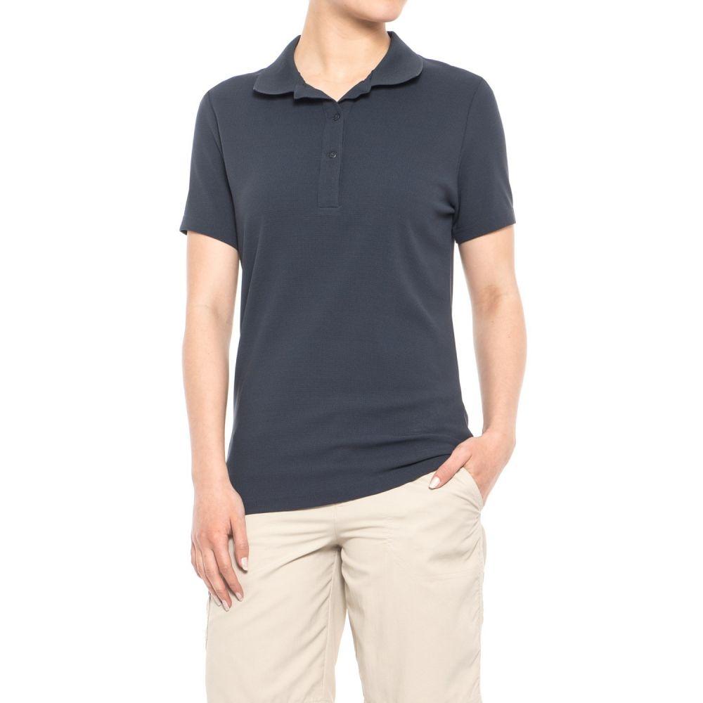 ヘリーハンセン レディース ハイキング・登山 トップス【Dove Polo Shirt - Short Sleeve】Navy