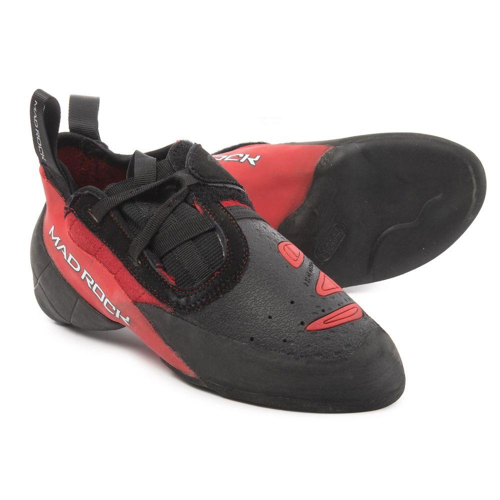 マッドロック レディース クライミング シューズ・靴【Contact 2.0 Climbing Shoes】Red/Black