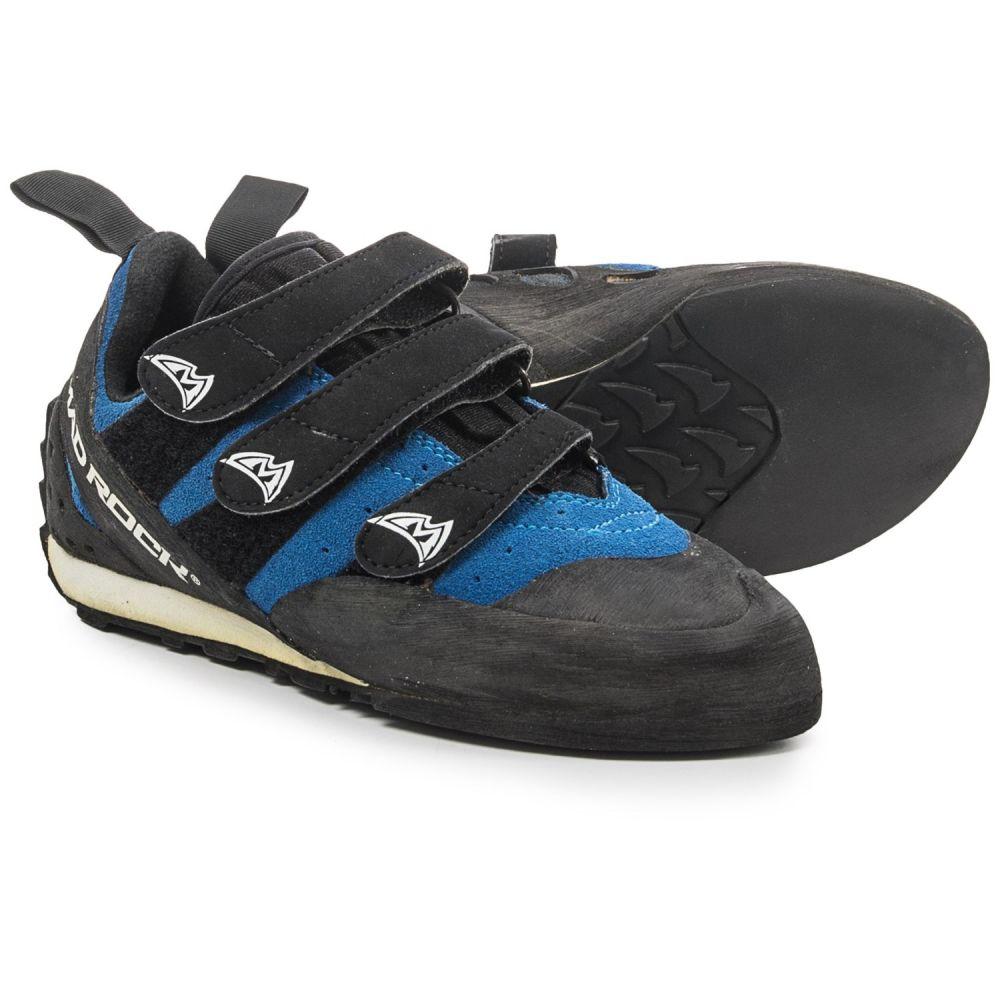 マッドロック レディース クライミング シューズ・靴【Frenzy EZ/EVA Climbing Shoes - Suede】Blue/Black