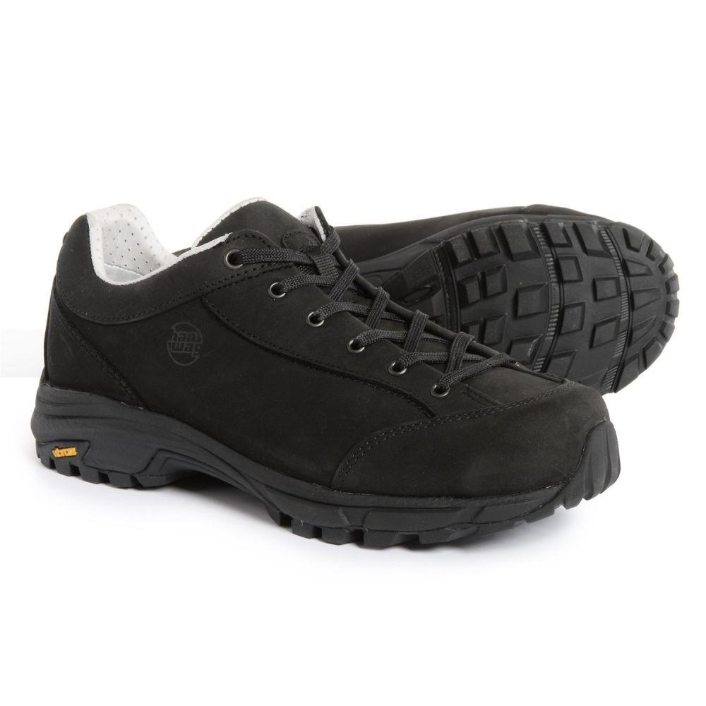 ハンワグ レディース ハイキング・登山 シューズ・靴【Valungo Bunion Hiking Shoes - Nubuck】Schwarz/Black