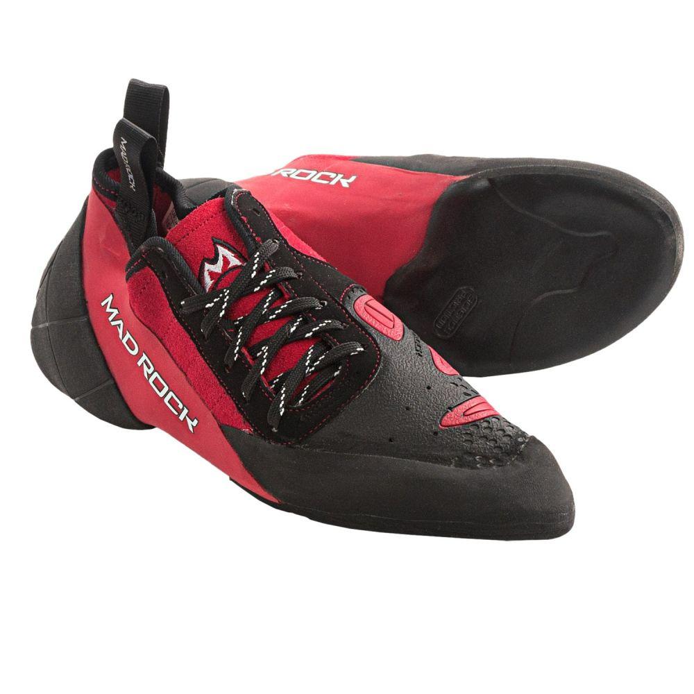 マッドロック レディース クライミング シューズ・靴【Concept 2.0 Climbing Shoes】Red/Black