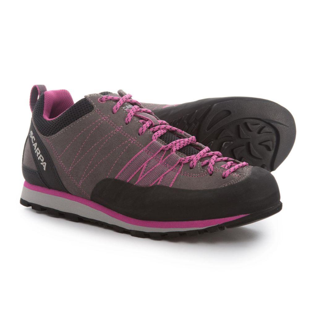 スカルパ レディース ハイキング・登山 シューズ・靴【Crux Light Hiking Shoes】Mid Grey/Dahlia