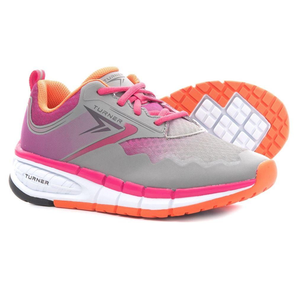 ターナー フットウェア レディース ランニング・ウォーキング シューズ・靴【Legacy Running Shoes】Grey/Pink/Orange
