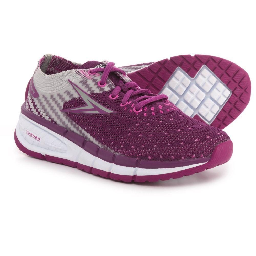 ターナー フットウェア レディース ランニング・ウォーキング シューズ・靴【T-Levon Running Shoes】Purple/Grey