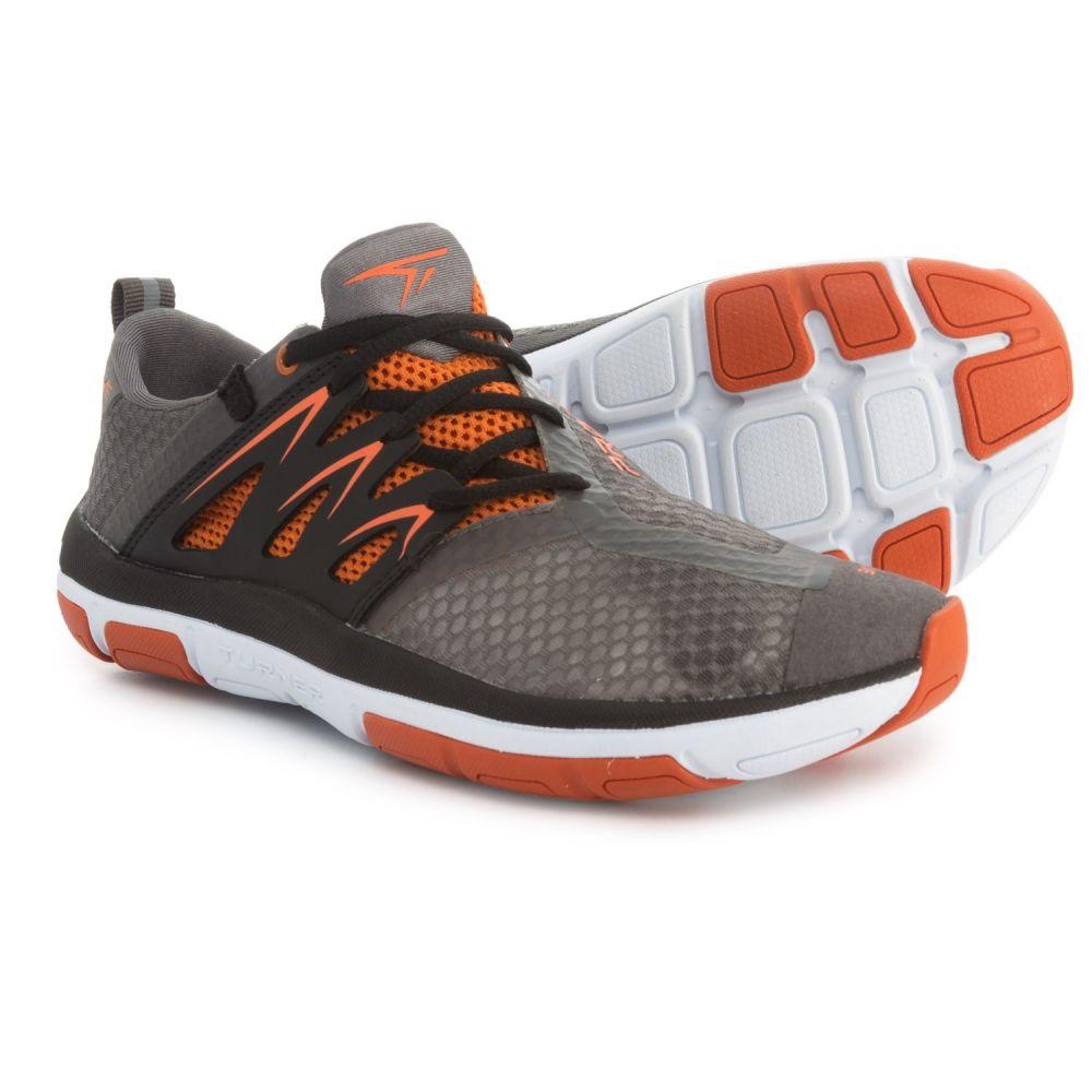 最高級のスーパー ターナー フットウェア レディース フィットネス レディース・トレーニング シューズ・靴【T-Fleerun ターナー Training フットウェア Shoes】Grey/Orange/Black, 博多 炭寅:469e0f2f --- canoncity.azurewebsites.net